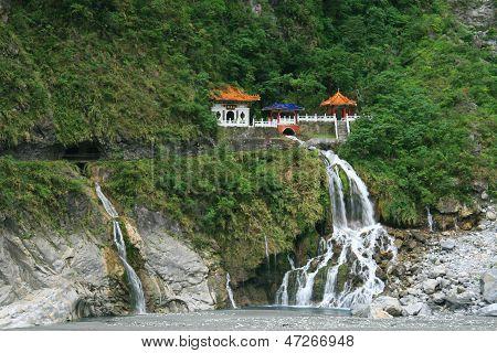 Changchun (eternal Spring) Shrine At Taroko National Park