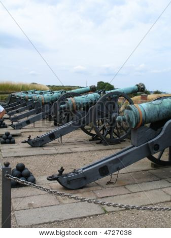 Historic Canons At Denmark