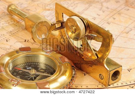 Old-fashioned Navigation Devices