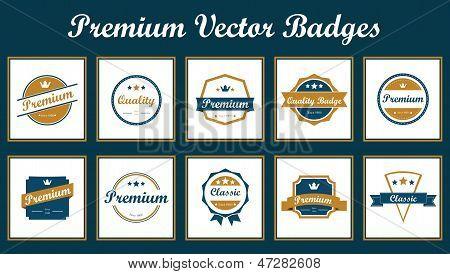 Premium Vector Badges.eps