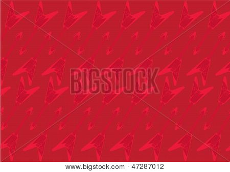 Red guitar background