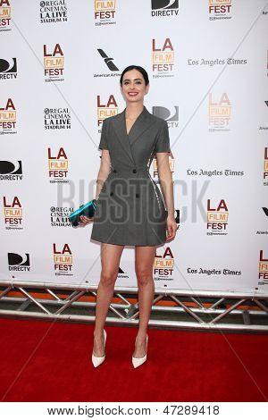 "LOS ANGELES - JUN 23:  Krytsten Ritter arrives at  ""The Way Way Back"" Premiere as part of the Los Angeles Film Festival at the Regal Cinemas on June 23, 2013 in Los Angeles, CA"