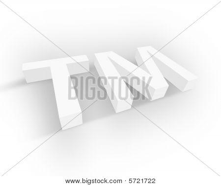 White Trademark symbol