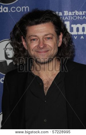 Andy Serkis at the 27th Annual Santa Barbara Film Festival Virtuosos Award Ceremony, Arlington Theatre, Santa Barbara, CA 02-03-12