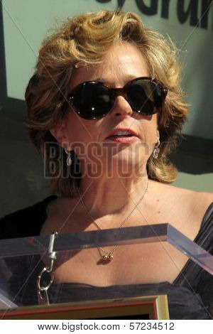 Yeardley Smith at the Matt Groening Star on the Hollywood Walk of Fame Ceremony, Hollywood, CA 02-14-12