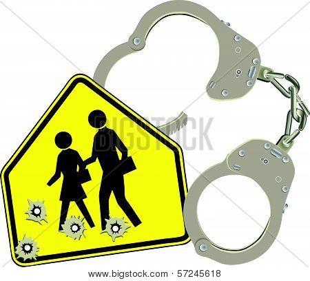Handcuffs And School
