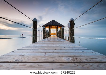 North Carolina Coastal Gazebo Boardwalk