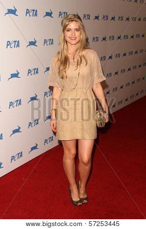 Pippa Black at PETA's 30th Anniversary Gala and Humanitarian Awards, Hollywood Palladium, Hollywood, CA. 09-25-10