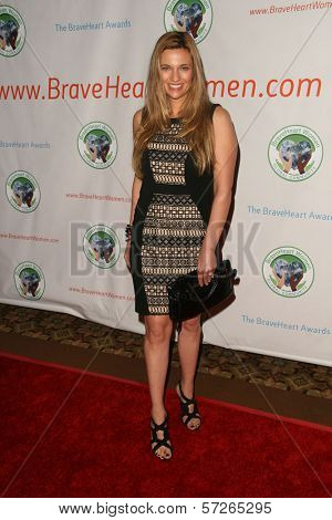Dr. Kristi Funk at the 2010 BraveHeart Awards, Hyatt Regency Century Plaza Hotel, Century City, CA.  10-09-10