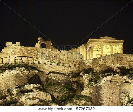 Acropolis of Athens Erechtheion temple