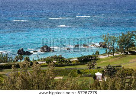 Coastline on Bermuda