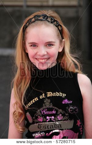Darcy Rose Byrnes at Variety's 4th Annual Power Of Youth Event, Paramount Studios, Hollywood, CA. 10-24-10