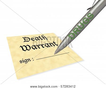 Death Warrant Drugs