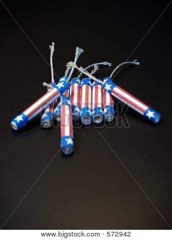 Red ,White & Blue Firecrackers 2