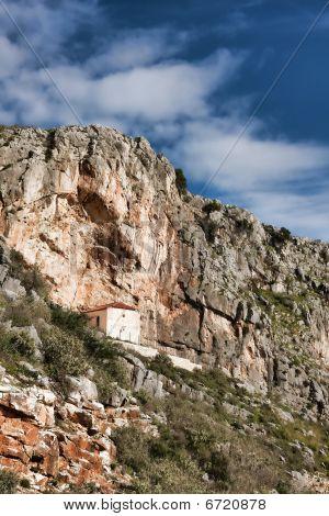 Chapel In The Mavra Ori Mountain