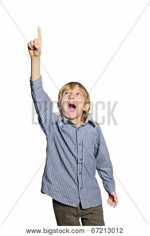 Child Boy Excited