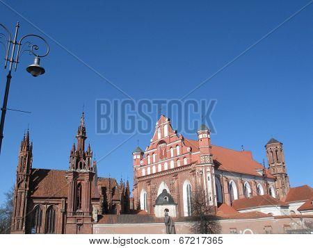 Red Gothic In Vilnius