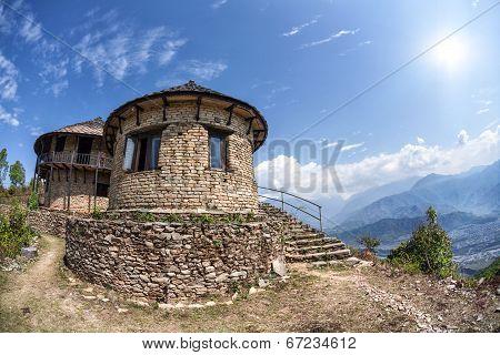House On Sarangkot Hill