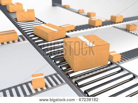 Boxes on Conveyor Belt II