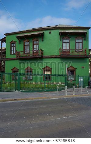 Colourful Railway Buildings