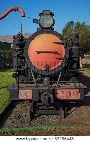 Locomotive Number 209