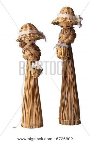 Cute Straws Puppets