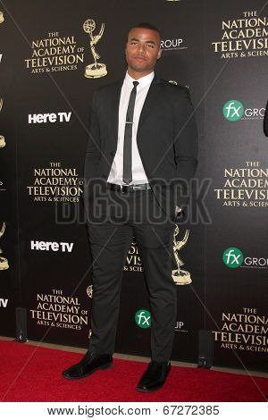 LOS ANGELES - JUN 22:  Redaric Williams at the 2014 Daytime Emmy Awards Arrivals at the Beverly Hilton Hotel on June 22, 2014 in Beverly Hills, CA
