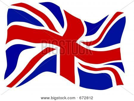 This is the Union Jack flag. poster