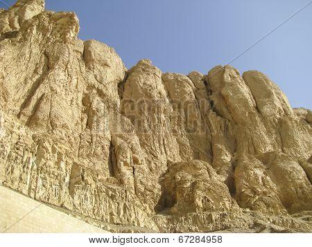 Theban Mountain In Luxor