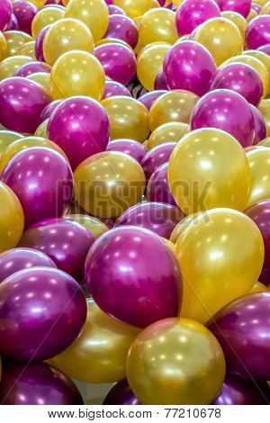 Balloons Of Many Colours