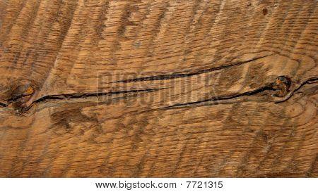 dark rough wood structure