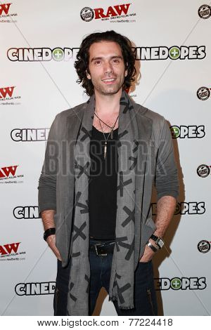 LOS ANGELES - NOV 18:  Ben Morrison at the CineDopes Web Series Premiere And Launch Party at the Busby's East on November 18, 2014 in Los Angeles, CA