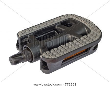 Bicycle pedal, isolated