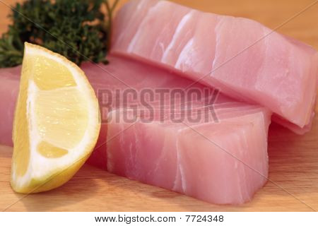 Raw Marlin Steaks