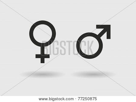 Sexual Simbols Icon Set