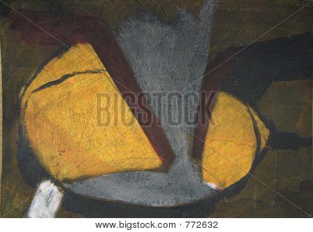 dibujo amarillo oscuro