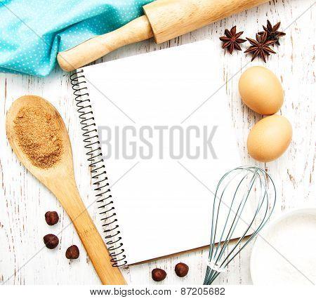 Blank Recipe Book