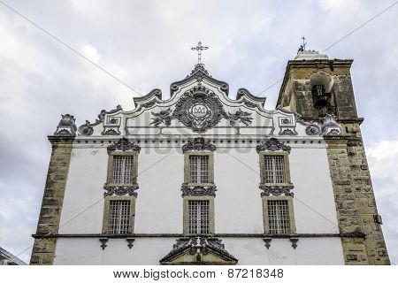 Church Of Nossa Senhora Do Rosário In Olhao. Algarve, Portugal.