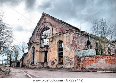 Vyborg. Russia. The ruins of the last Dominican monastery
