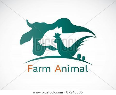 Vector Group Of Animal Farm Label