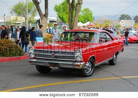 Ford Galaxie 500 Classic Car On Display
