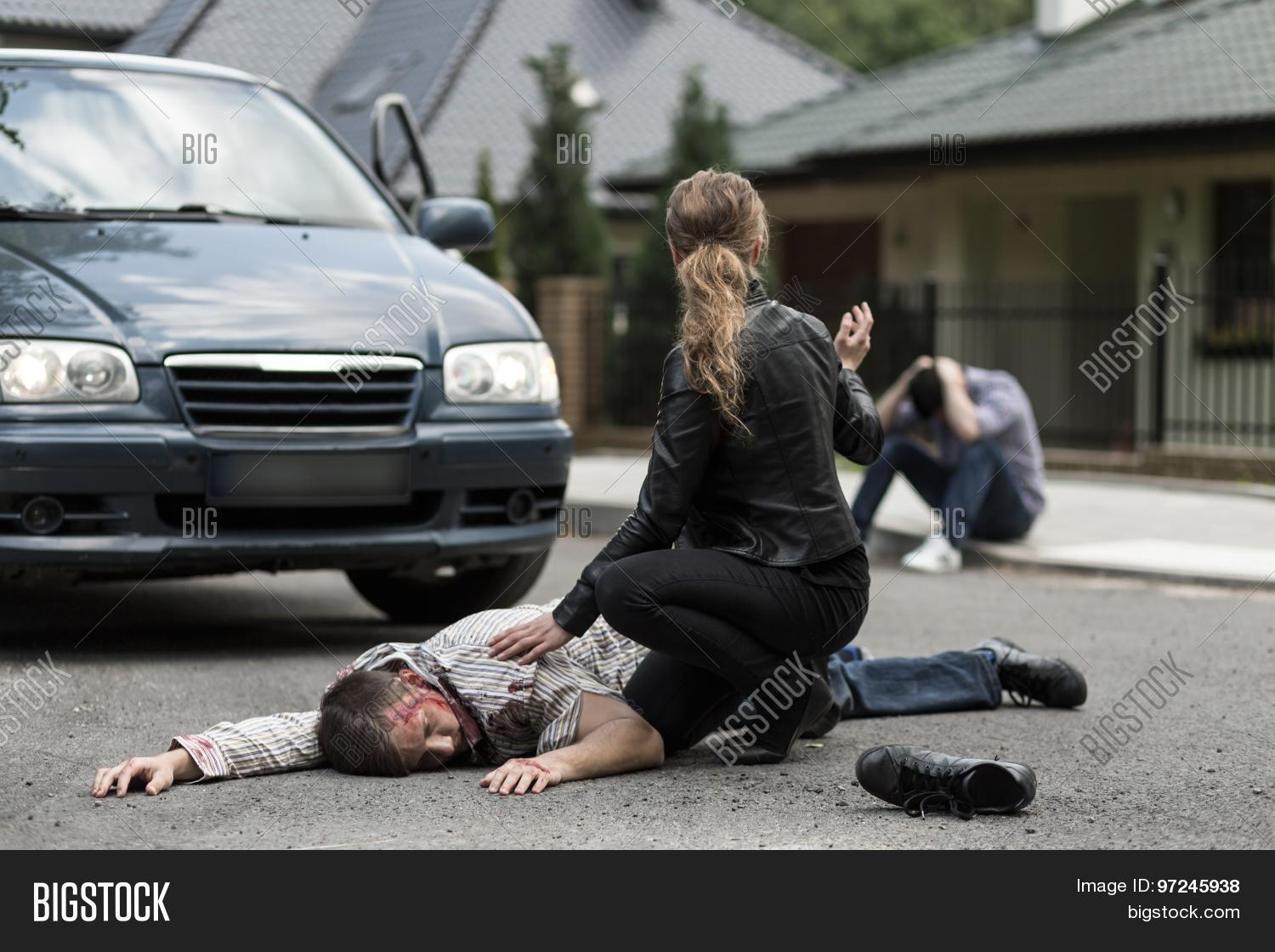 Victim Car Accident Image Photo Free Trial Bigstock
