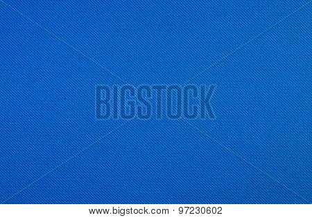 Blue Fabric Texture.