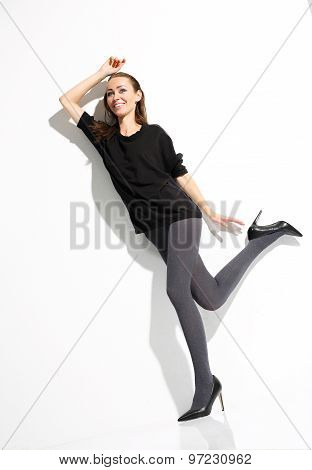 Sexy legs in tights