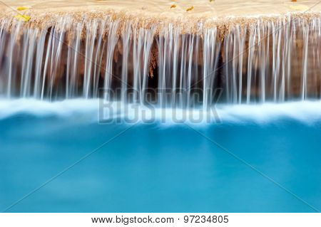 Fresh water natural background