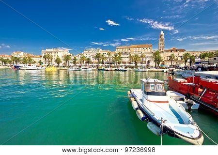 Historic Split Architecture Waterfront View