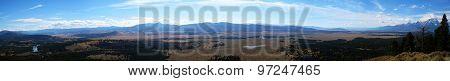 Jackson hole panorama (Wyoming, Idaho, USA)