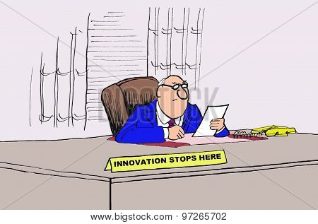 Innovation Stops Here