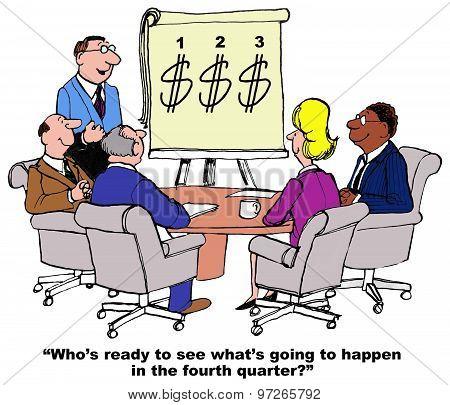 Optimistic About Fourth Quarter