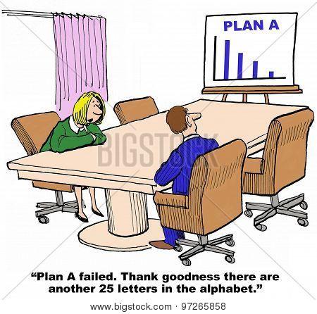 Plan A Failed
